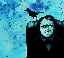 Edgar Allan Crow by LVBART