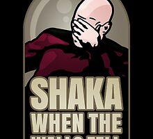 Shaka, When the Walls Fell by corywaydesign