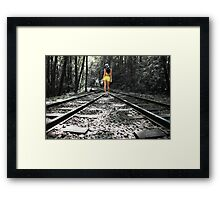 Tracking Framed Print