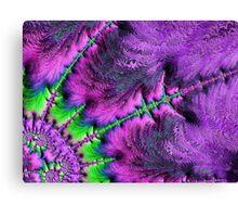 Through The Purple Glass Canvas Print