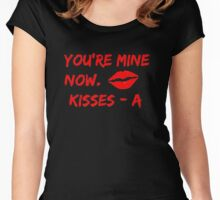 Pretty Little Liars - You're Mine Now Women's Fitted Scoop T-Shirt