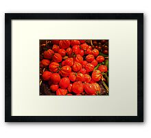 Tomatoes From Beaulieu sur Mer Framed Print