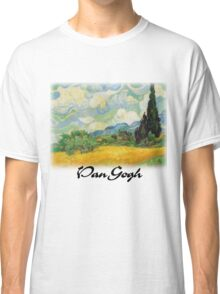 Vincent Van Gogh - Wheat Fields with Cypress Classic T-Shirt