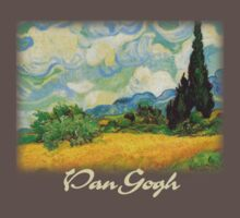 Vincent Van Gogh - Wheat Fields with Cypress Baby Tee