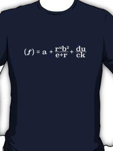 Function of a Rubber Duck (Light Text) T-Shirt