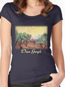 Vincent Van Gogh – Olive Grove Women's Fitted Scoop T-Shirt