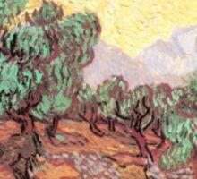 Vincent Van Gogh – Olive Grove Sticker