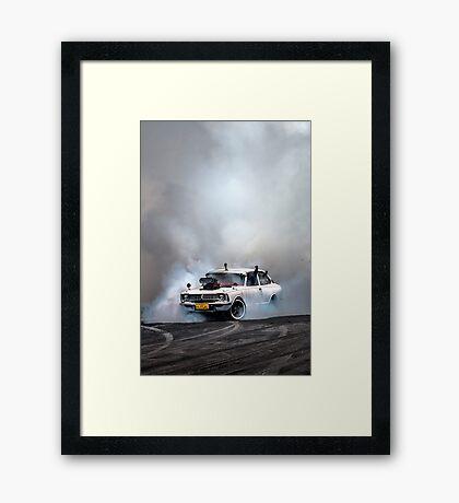 Summernats 27 Burnout Master Framed Print