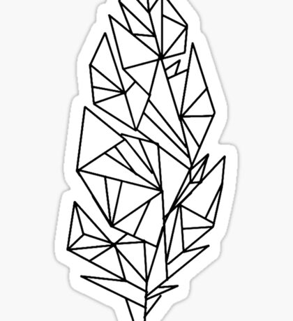 Feather Tattoo - Kian Lawley  [Original] Sticker