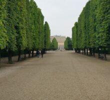 Schonbrunn Palace Gardens Sticker