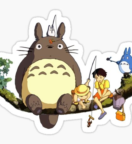 Totoro!  Sticker