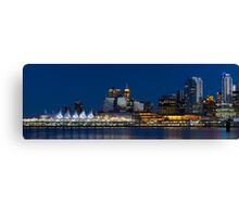 Downtown Vancouver Skyline Canvas Print