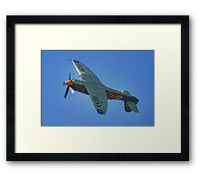 Sea Fury - Shoreham - 2013 Framed Print