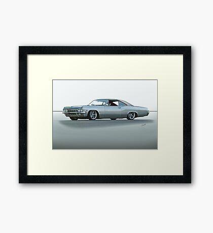 1967 Chevrolet Custom Impala 327 Framed Print