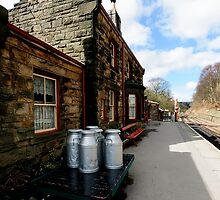 Goathland Railway Station by English Landscape Prints