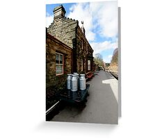 Goathland Railway Station Greeting Card