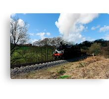 Approaching Goathland Canvas Print