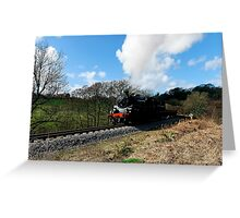 Approaching Goathland Greeting Card