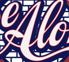 Be Aloha Pennant Sticker