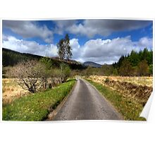 Glen Orchy Poster