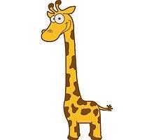 Funny funny cartoon cartoon giraffe by Style-O-Mat