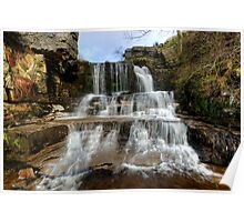 Swinner Gill Waterfall Poster