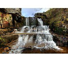 Swinner Gill Waterfall Photographic Print