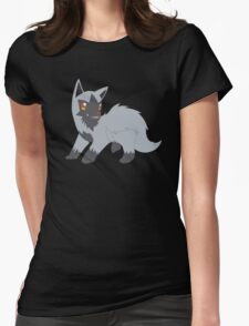Poochyena Pup Womens Fitted T-Shirt