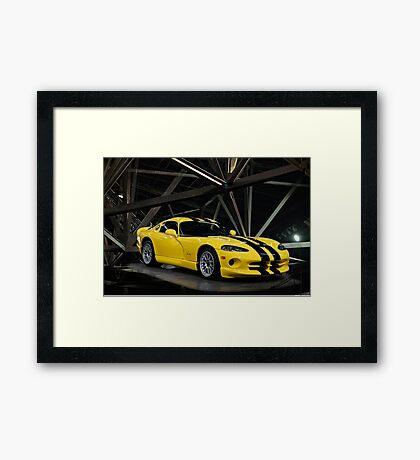 2001 Dodge Viper GTS ACR Framed Print