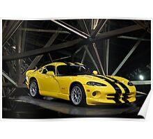 2001 Dodge Viper GTS ACR Poster