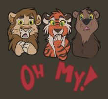 Lions and Tigers and Bears, Oh My!  by TerraWolfDog