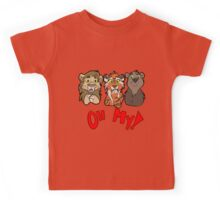 Lions and Tigers and Bears, Oh My!  Kids Tee