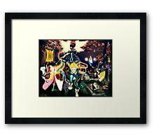 Final Fantasy Adventure Time! Framed Print