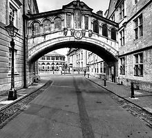 Welcome To Oxford by English Landscape Prints