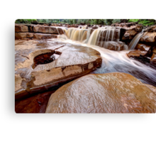 Lower Wainwath Force Canvas Print