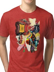 Final Fantasy Adventure Time! Tri-blend T-Shirt