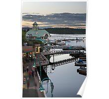 Nanaimo Harbour Boardwalk Poster