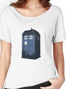 The BLUE Police Box - Tardis Women's Relaxed Fit T-Shirt