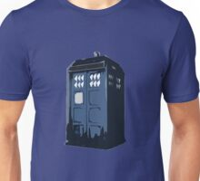 The BLUE Police Box - Tardis Unisex T-Shirt