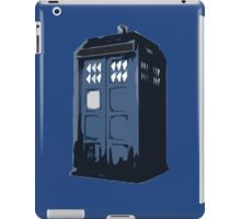 The BLUE Police Box - Tardis iPad Case/Skin