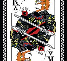 Ganondorf Card - Hylian Court Legend of Zelda by sorenkalla