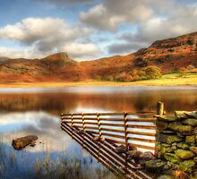 Blea Tarn, Lake District by English Landscape Prints