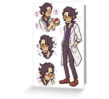 prof sycamore Greeting Card