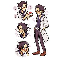 prof sycamore Photographic Print