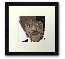 Samuel l Jackson Framed Print