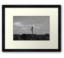 I Can See Forever Framed Print