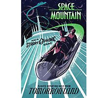 Space Mountain Photographic Print
