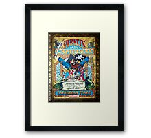 Pirates of the Caribbean Ride Framed Print