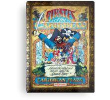 Pirates of the Caribbean Ride Metal Print