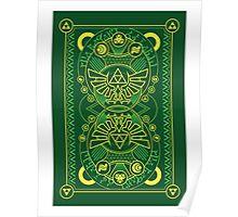 Card Back - Hylian Court Legend of Zelda Poster